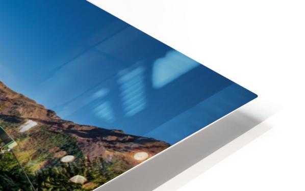 Towering over Lake Wakatipu HD Sublimation Metal print