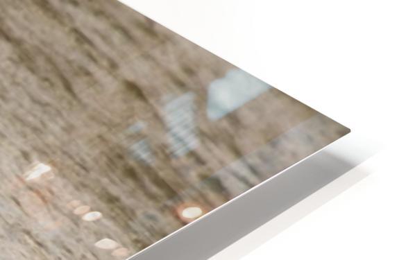 Heron flight HD Sublimation Metal print