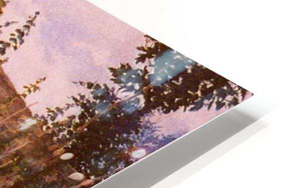 An idyllic afternoon HD Sublimation Metal print