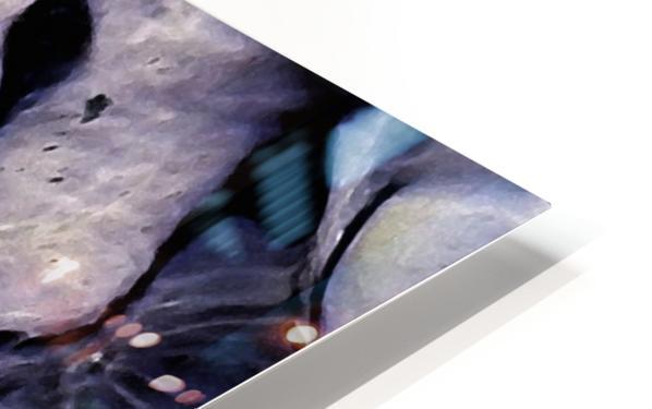 Undulations HD Sublimation Metal print