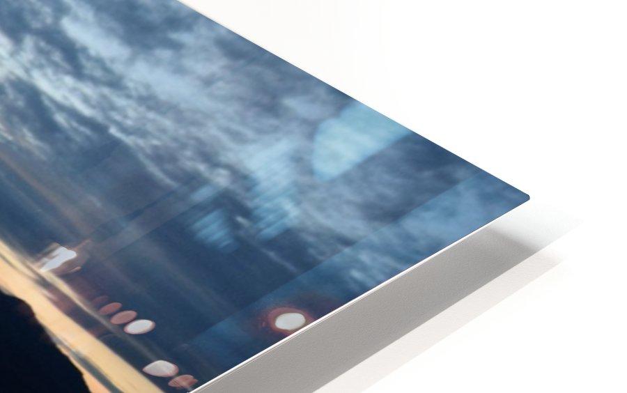 Dusky Dock on Champlain  HD Sublimation Metal print
