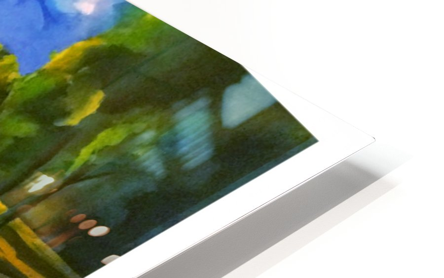Cattails HD Sublimation Metal print