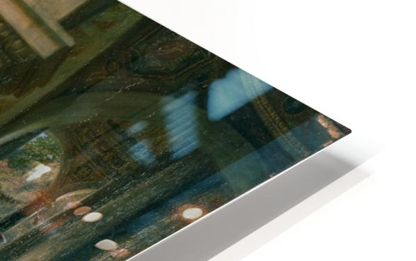 Psyche in the temple of love HD Sublimation Metal print