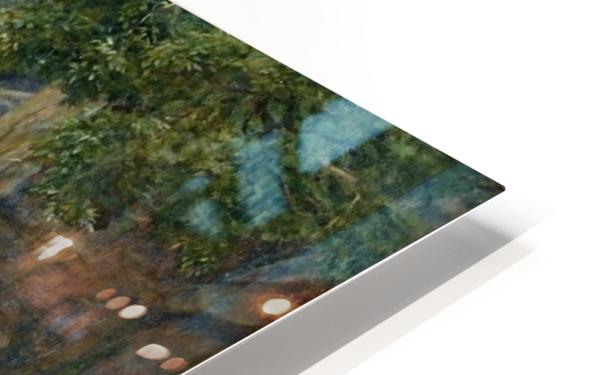 The Nymph of the Stream HD Sublimation Metal print