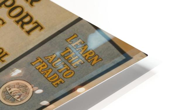 Learn a trade HD Sublimation Metal print