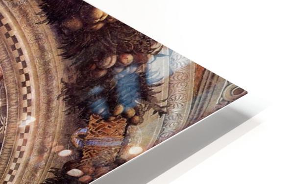Mantegna Ceiling Oculus in the Camera degli Sposi, Mantova HD Sublimation Metal print