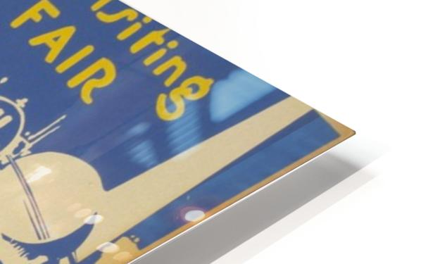Visit Sea Cliff HD Sublimation Metal print