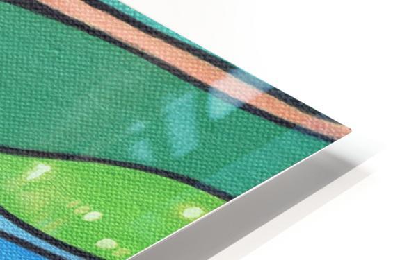 Chromaticity HD Sublimation Metal print