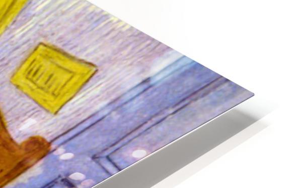 Bedroom at Arles by van Gogh HD Sublimation Metal print
