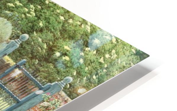 The Goldfish Seller HD Sublimation Metal print