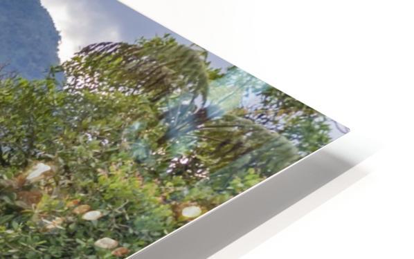 Pastaza River and Leafy Mountains Ecuador copia HD Sublimation Metal print