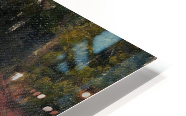 The sacred bridge in Nikko HD Sublimation Metal print