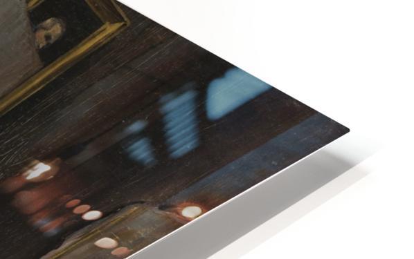 Le peintre dans son atelier HD Sublimation Metal print