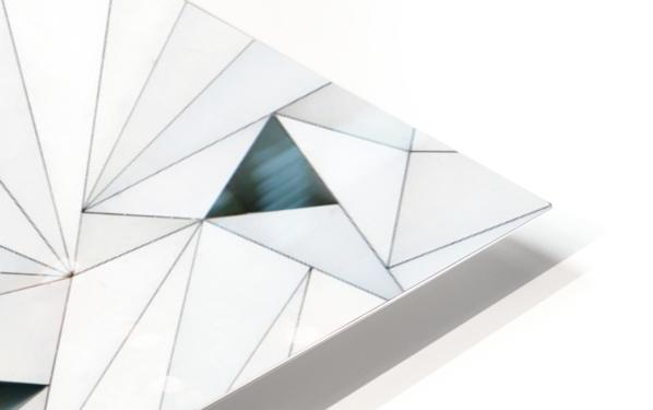 triangulation 1 HD Sublimation Metal print