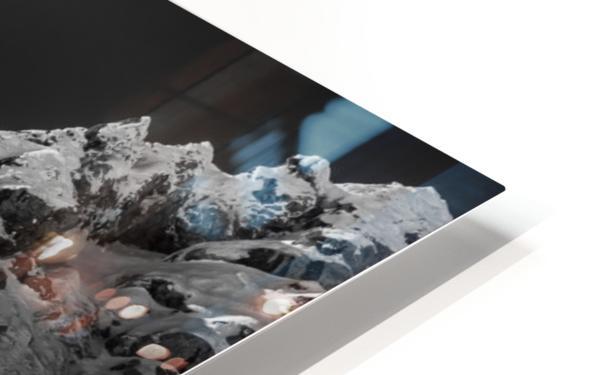Snow splash over the edge HD Sublimation Metal print