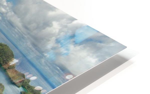 Green paradise HD Sublimation Metal print