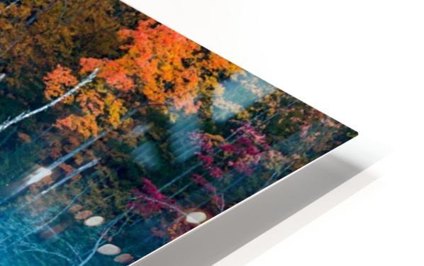 Morning Reflection HD Sublimation Metal print