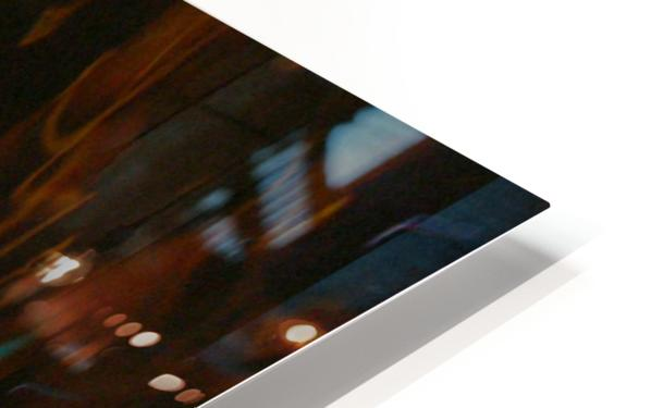 Blue Procession HD Sublimation Metal print