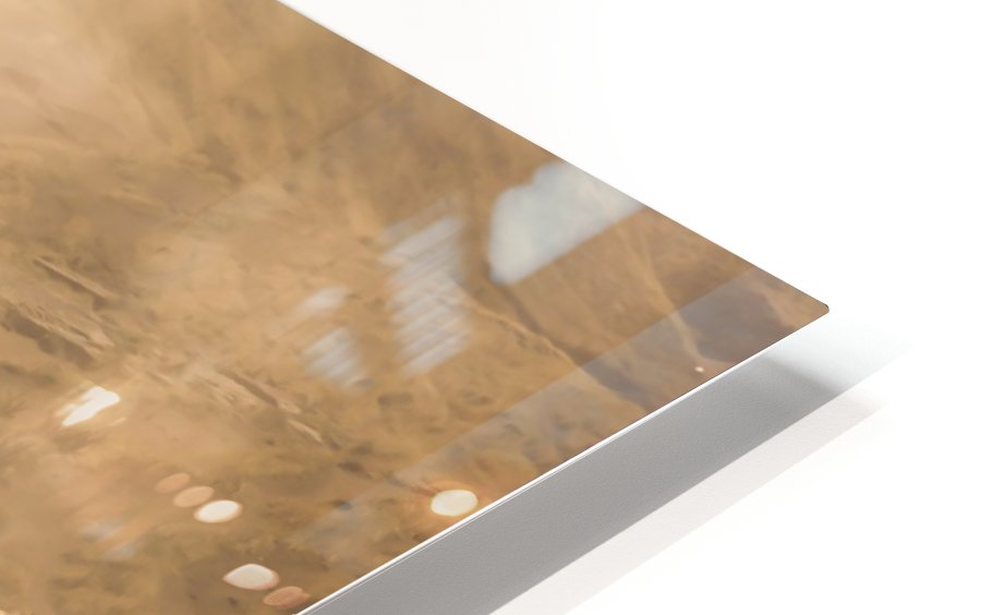 Tozlu Yolculuk HD Sublimation Metal print