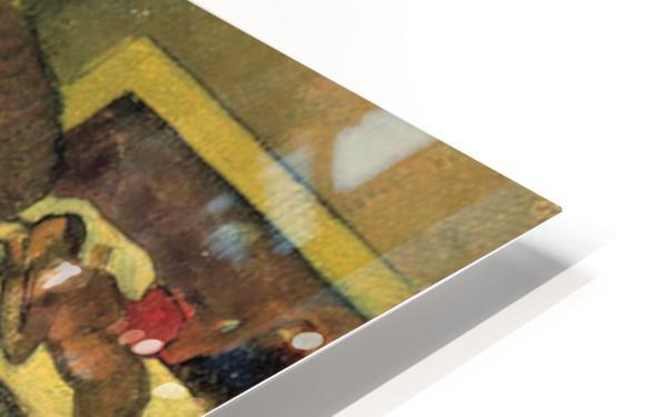 Self Portrait by Gauguin HD Sublimation Metal print