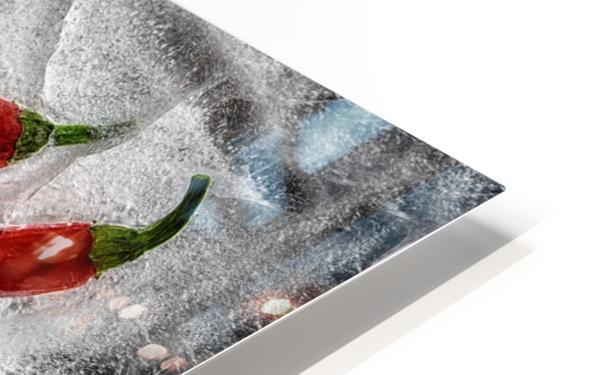 Frozen fire HD Sublimation Metal print