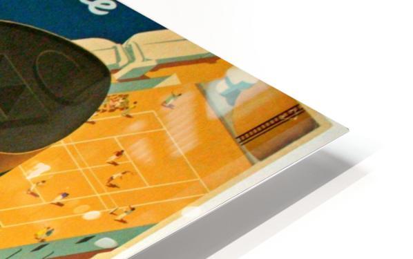 Holland - America Line vintage travel poster HD Sublimation Metal print