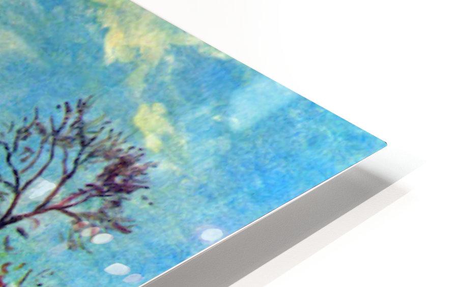 Strait of Louveciennes by Pissarro Impression de sublimation métal HD