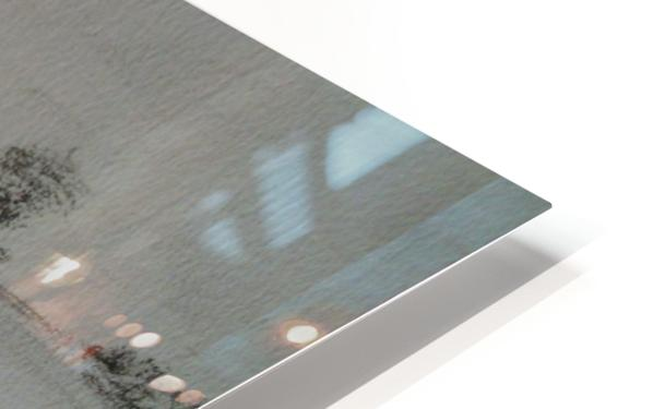An English Lane HD Sublimation Metal print