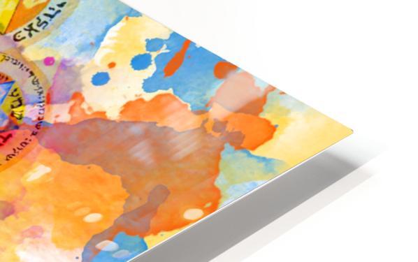 Art227 Impression de sublimation métal HD