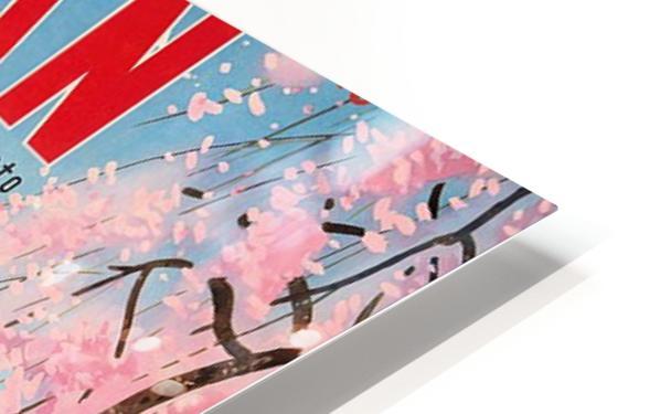 Pan American World Airways Japan Spring in Kyoto HD Sublimation Metal print