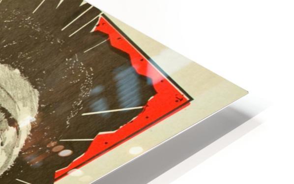James Brown HD Sublimation Metal print