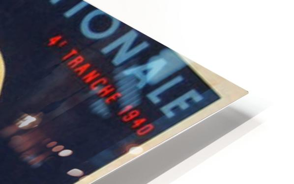 Loterie Nationale Tranche des Meres Francaises HD Sublimation Metal print