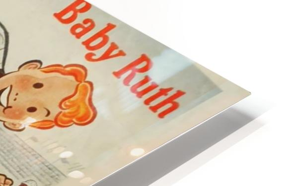 Keep going with Baby Ruth HD Sublimation Metal print