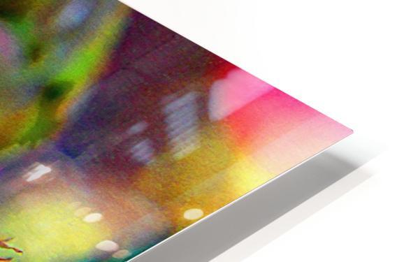 Rosebud HD Sublimation Metal print