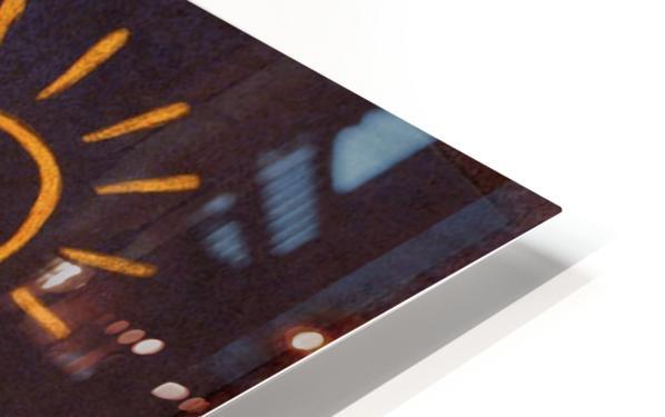 Sun HD Sublimation Metal print