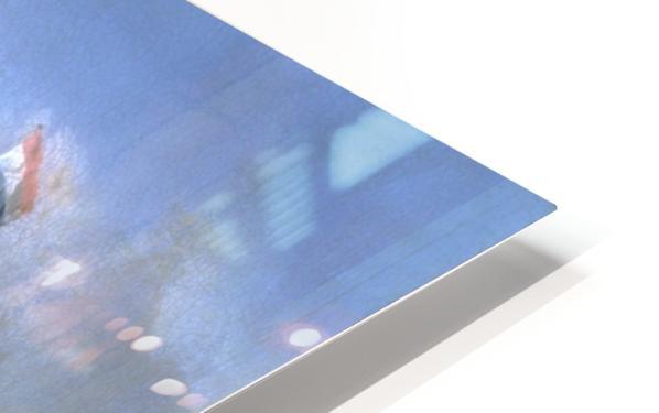 Walfang im Eismeer HD Sublimation Metal print