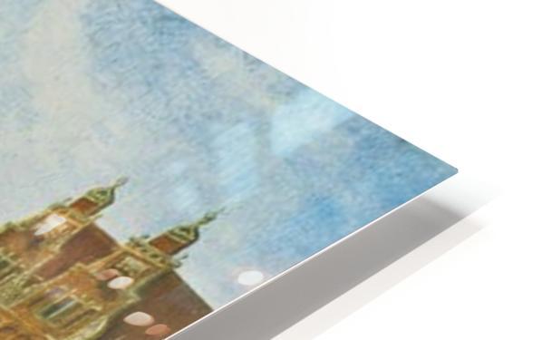 Singel in Amsterdam with the Jan Roodenpoortstoren HD Sublimation Metal print