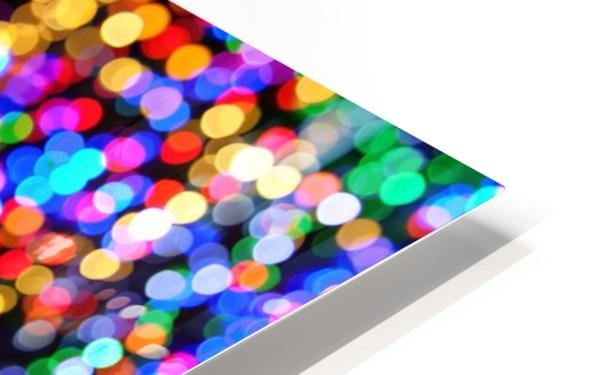 bokeh multicolor HD Sublimation Metal print