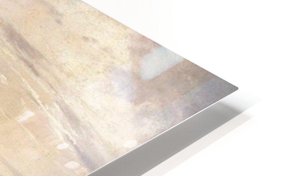 Mountainous Riverscape HD Sublimation Metal print