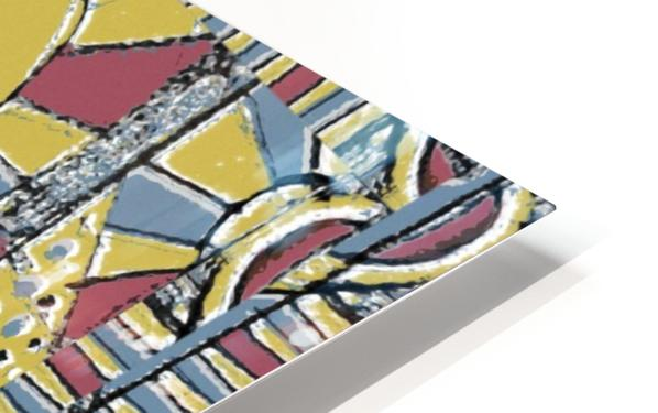 Multicolor Abstract HD Sublimation Metal print