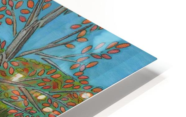 A River View HD Sublimation Metal print