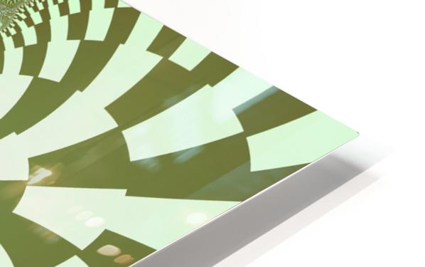 Green Abstract HD Sublimation Metal print