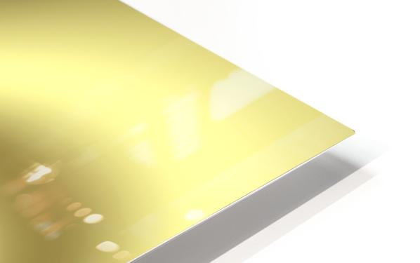Gold Abstract HD Sublimation Metal print