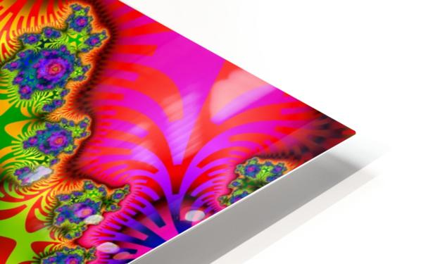 Vivid Abstract Image HD Sublimation Metal print