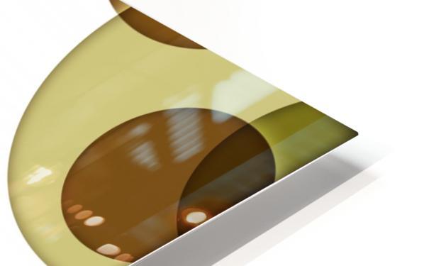 Orbicular Design HD Sublimation Metal print