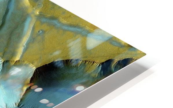 Mars Aerial View HD Sublimation Metal print