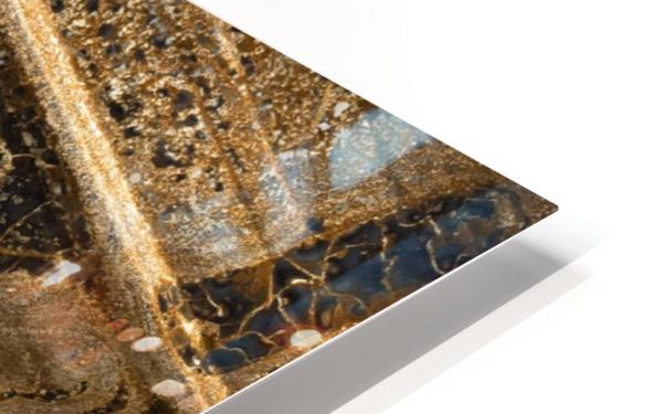 Detail Of Burnt Building HD Sublimation Metal print