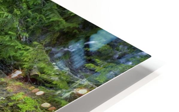 Waterfall In The Forest HD Sublimation Metal print