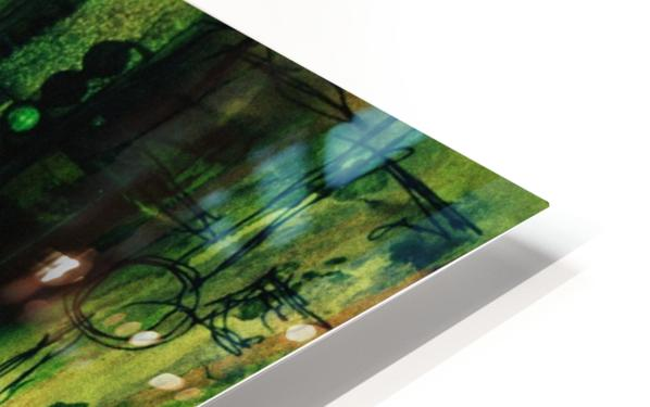 Double Exposure Serie HD Sublimation Metal print