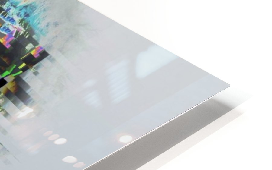 Glitch Serie HD Sublimation Metal print
